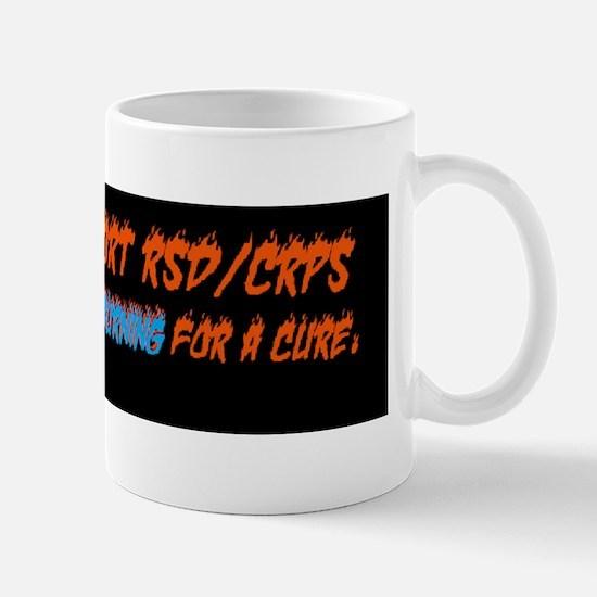 RSDburning for a cure Mug