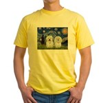 Starry / Coton Pair Yellow T-Shirt