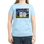 Starry / Coton Pair Women's Light T-Shirt