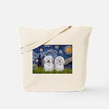 Starry / Coton Pair Tote Bag