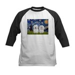 Starry / Coton Pair Kids Baseball Jersey