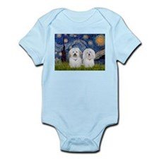 Starry / Coton Pair Infant Bodysuit