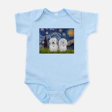 Starry / Coton Pair Infant Bodysuit