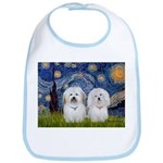 Starry / Coton Pair Bib