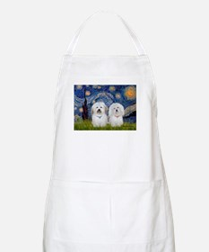 Starry / Coton Pair Apron