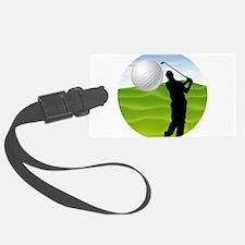 Golf Ball Coming at You Luggage Tag
