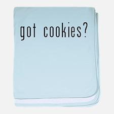 got cookies black.psd baby blanket
