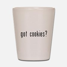 got cookies black.psd Shot Glass