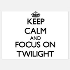 Keep Calm by focusing on Twilight Invitations