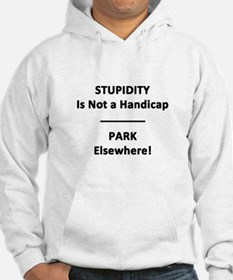 Stupidity is not a Handicap Hoodie