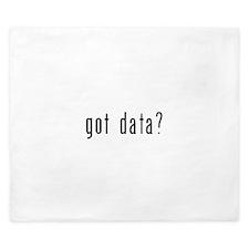 got data black.psd King Duvet