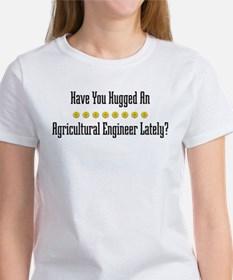 Hugged Agricultural Engineer Tee