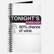 Tonight's Forecast 90% chance of wine Journal