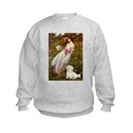 Windflowers / Coton Kids Sweatshirt