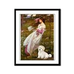Windflowers / Coton Framed Panel Print