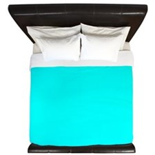 Aqua Alliance King Duvet