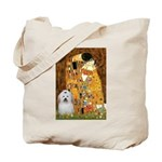 The Kiss / Coton Tote Bag