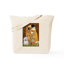 The Kiss / Coton Tote Bag