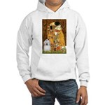 The Kiss / Coton Hooded Sweatshirt
