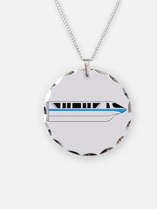 Monorail Blue Necklace
