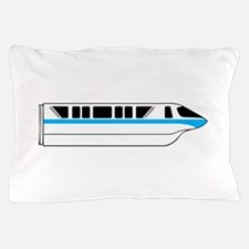 Monorail Blue Pillow Case
