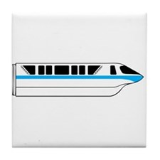 Monorail Blue Tile Coaster