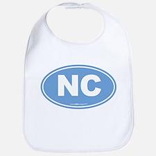 North Carolina NC Euro Oval Bib