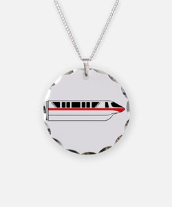 Monorail Red Necklace