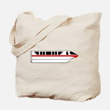 Monorail Red Tote Bag