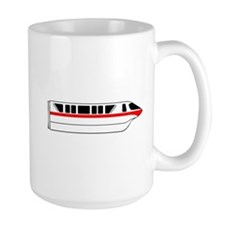 Monorail Red Mug
