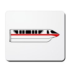 Monorail Red Mousepad