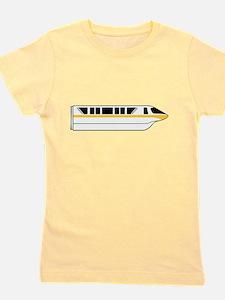Monorail Yellow Girl's Tee