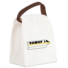 Monorail Yellow Canvas Lunch Bag