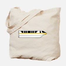 Monorail Yellow Tote Bag