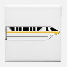 Monorail Yellow Tile Coaster