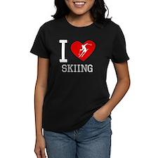 I Heart Skiing T-Shirt