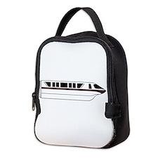 Monorail Black Neoprene Lunch Bag