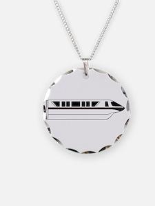 Monorail Black Necklace