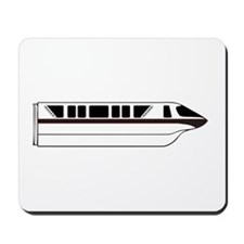 Monorail Black Mousepad