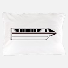 Monorail Black Pillow Case