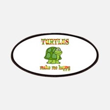 Turtles Make Me Happy Patches