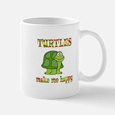 Turtles Make Me Happy Mug