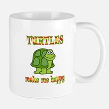 Turtles Make Me Happy Small Small Mug