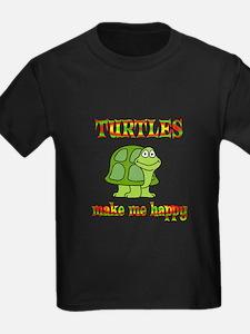 Turtles Make Me Happy T