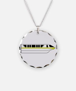 Monorail Lime Necklace