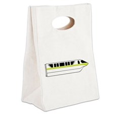 Monorail Lime Canvas Lunch Tote