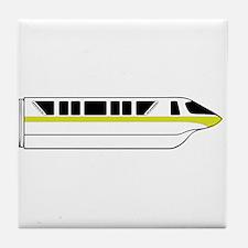 Monorail Lime Tile Coaster