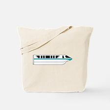 Monorail Teal Tote Bag