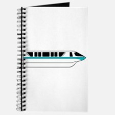 Monorail Teal Journal