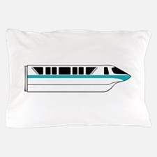 Monorail Teal Pillow Case